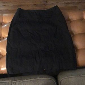Banana Republic black fitted Pencil Skirt